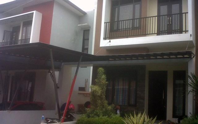 canopy polycarbonate garasi mobil rumah