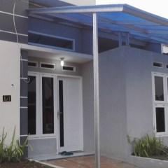 Baja Ringan Teras Rumah Kanopi Polikarbonat Polycarbonate Dengan Braja Awning