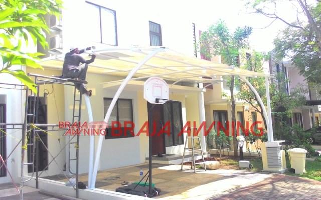 tenda membrane teras rumah