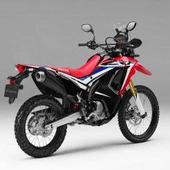 2017 Honda CRF250 Rally © Brake Magazine