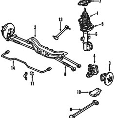 Grand Prix Parts Diagram Mitsubishi Wiring 2002 Pontiac Door Free For Am Rear Suspension 2004 2006