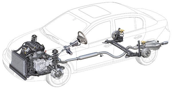 Alignment & Suspension Specs: 2005-2010 Chevy Cobalt and