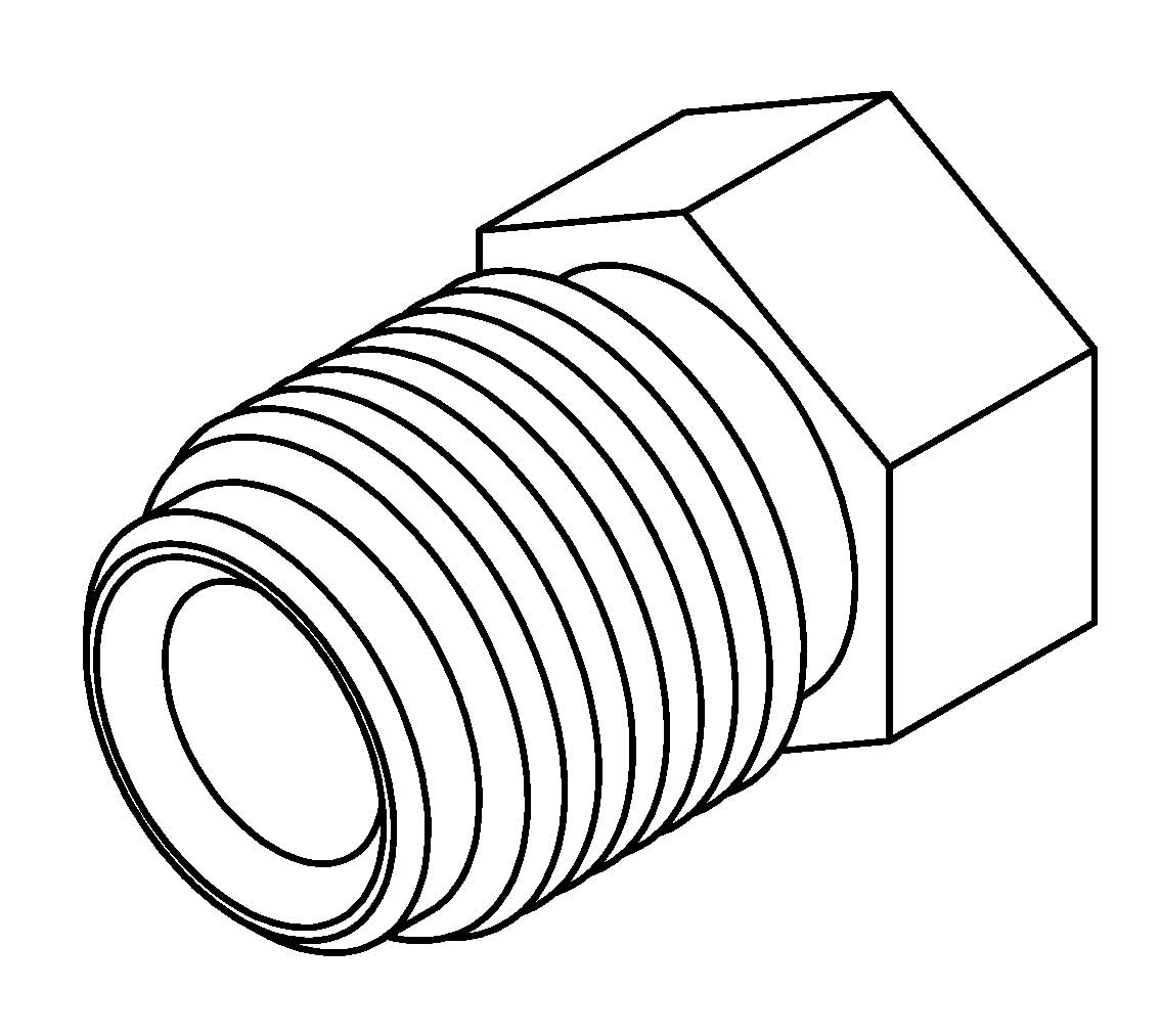 Brake Line Fitting Male M12 X 1 5mm 6mm