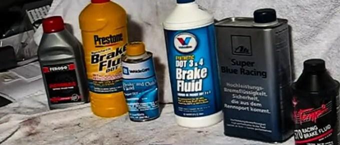Best DOT 3 Brake Fluid