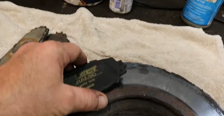 Bedding New Brake Pads on Old Rotors