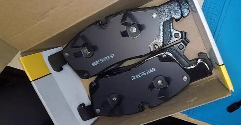 Brake pads 3MM left