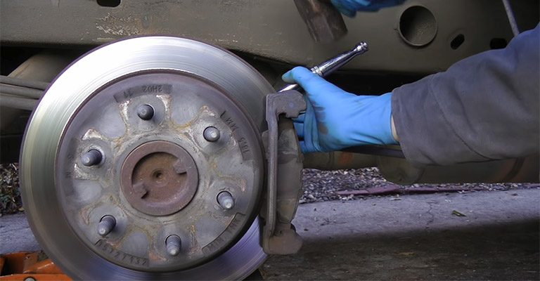 How to Grind Down Brake Pads