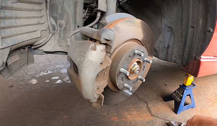 When should Mazda brake pads be replaced