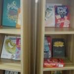Bookshelves for bramble reading room