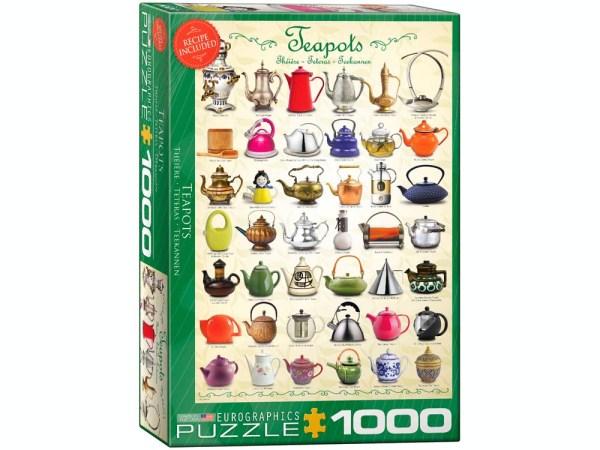 Teapots 1000 pc Jigsaw