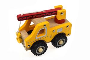 Wooden Crane truck