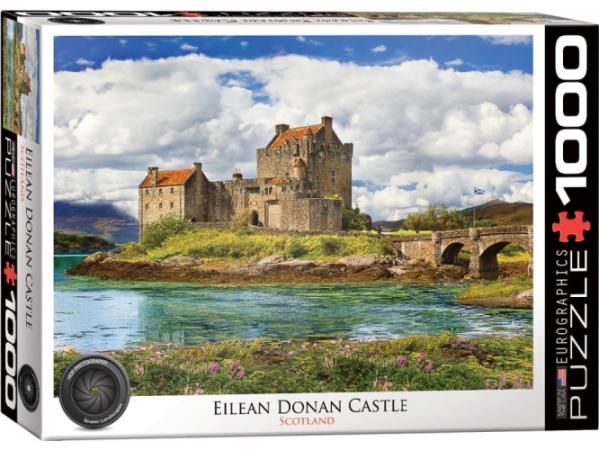Eilean Donan Castle Scotland 1000 pc Puzzle