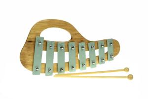 green xylophone