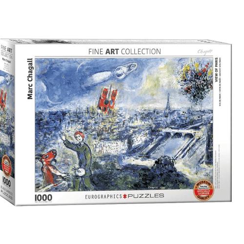 View of Paris 1000 pc Jigsaw