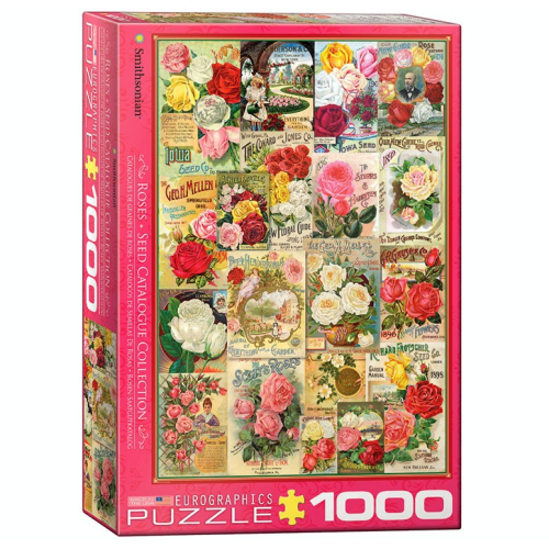Roses Seed Catalogue Collection 1000 pc Jigsaw