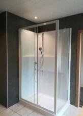 Badkamer na afwerking