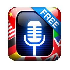 Translate Voice Free iOS logo