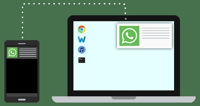تطبيق مزامنة رسائل الجوال MightyText