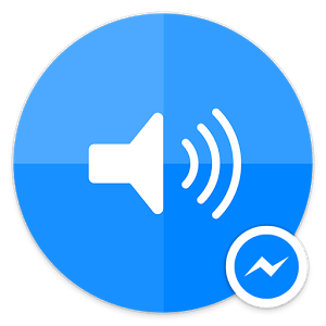 sound clips facebook messenger logo