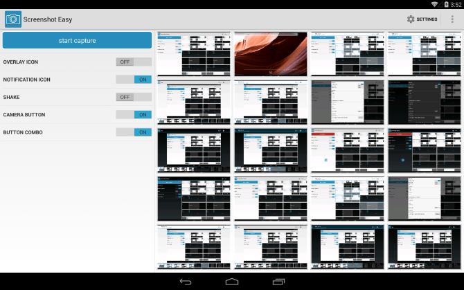 تطبيق Screenshot Easy