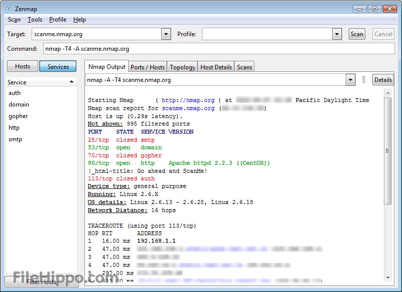 أداة القرصنة Nmap   برامج لاند