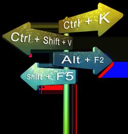 اختصارات لوحة المفاتيح ويندوز