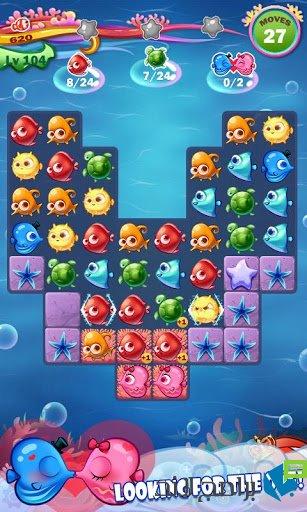 لعبة القضاء بالأسماك المحبوبة