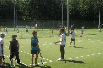Junior Tennis Camp