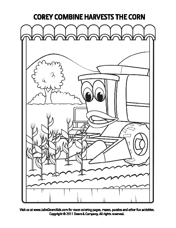 Johnny tractor coloring books coloring page for Johnny tractor coloring pages