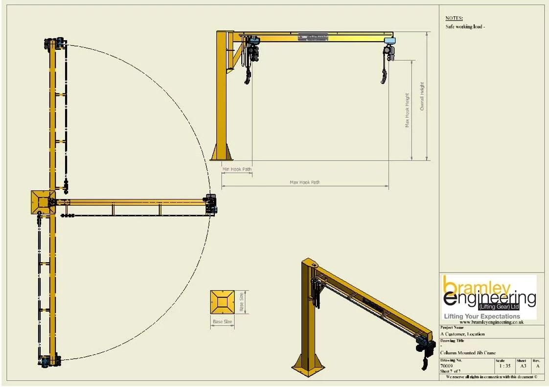 hight resolution of jib crane copy