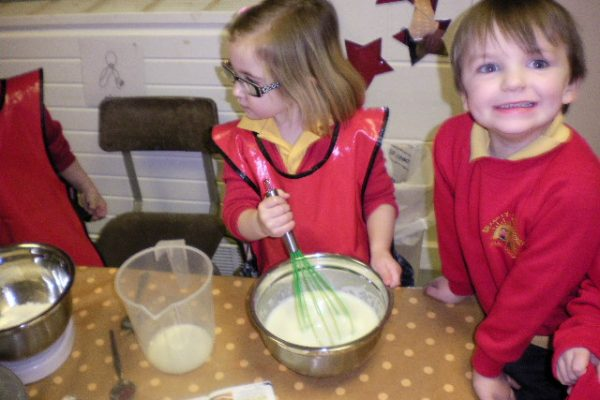 Pancake Day in Foundation Stage
