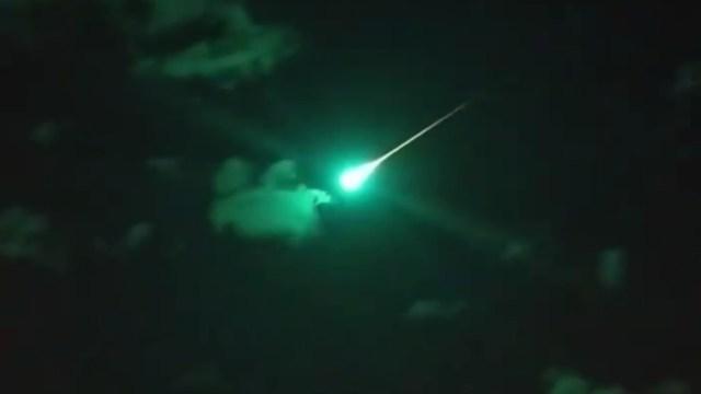 """Provável meteoro """"earthgrazer"""" registrado na Austrália"""