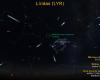 Céu da madrugada de 22 de abril, com o radiante da Líridas próximo à estrela Vega