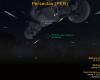 Radiante da Perseidas na direção da Constelação do Perseu - Fonte: BRAMON