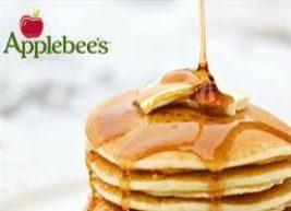 Applebees pancakes