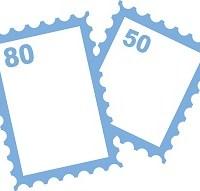 印紙(切手)のイラスト