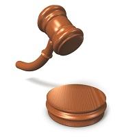 裁判所の木槌