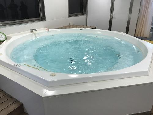 ジャグジー付き大浴場の写真