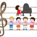 音楽教室のイラスト