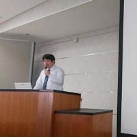 徳島大学での講義風景写真
