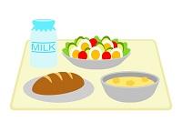食事のイラスト