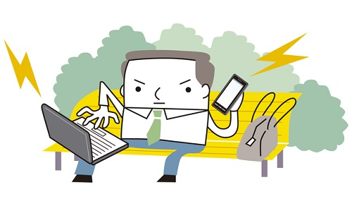 起業家のイメージイラスト
