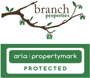The Branch Properties and Arla logos