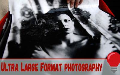 Ursula and her Ultra Large Format photography