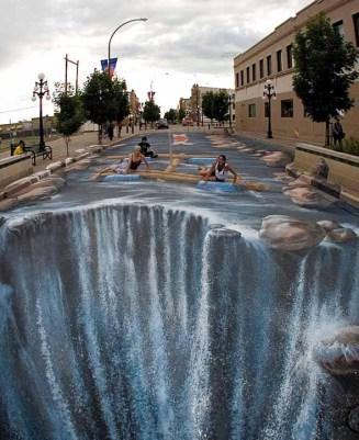 JulianBeever3 - arte strada 3D