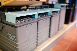 batteria di generatori flash