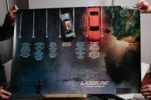 Costruzione di un parcheggio con auto ed altri oggetti in miniatura per poi essere fotografato in studio con la luce opportuna, tutto costruito dal brillante Sergio con le proprie mani