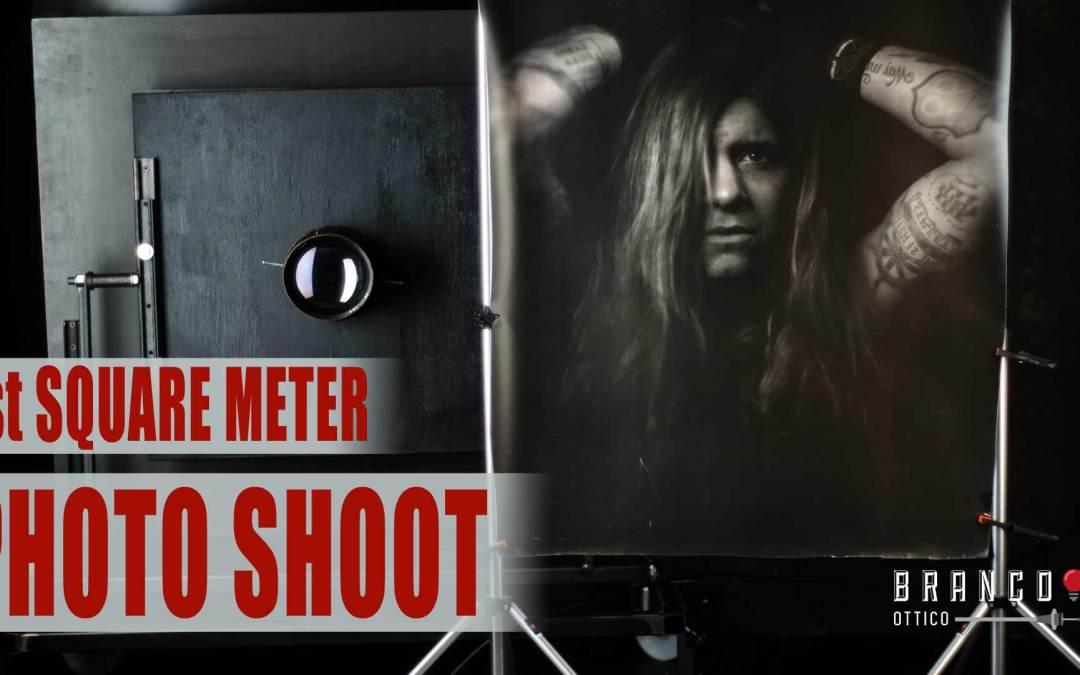 BERTHA, first one square meter photo shoot