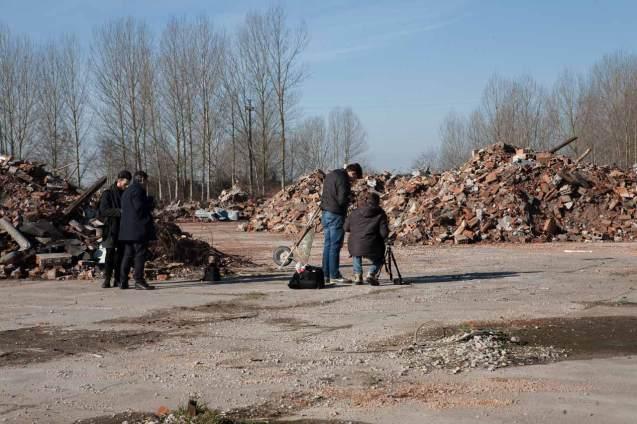 fotografia archeologica industriale e macerie