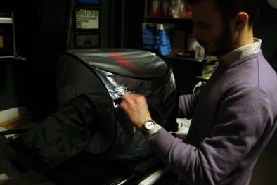 changing bag sempre in azione